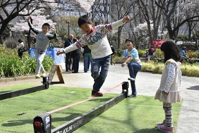 名古屋でスラックラインが楽しめる施設をご紹介!