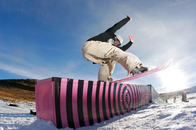 スノーボード ボックスとは?滑り方やコツなど解説!