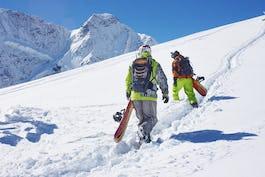 スノーボード スノーボードの遊び方は?雪山でのスノーボードの使い方を説明!