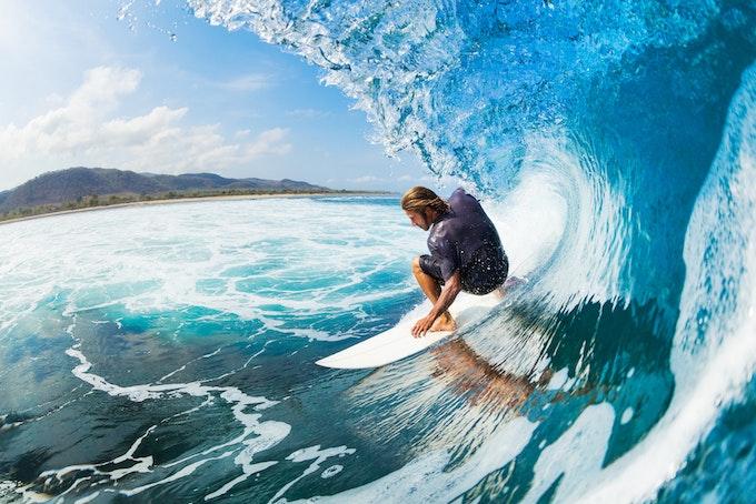 サーフィン上達への第一歩!効果的な陸トレのやり方