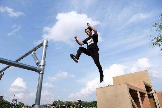 加賀忍者のコラボレーションイベント「忍者パルクールin金沢」GW開催!