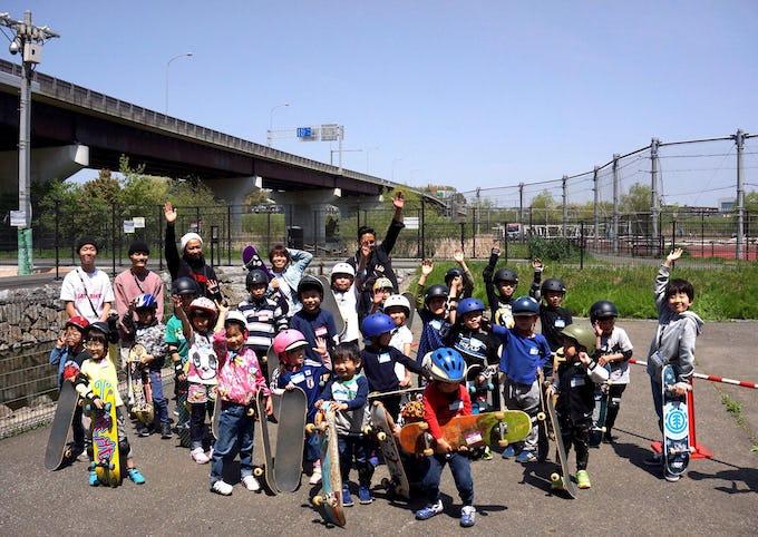 新横浜公園スケートボードスクール開催のお知らせ!