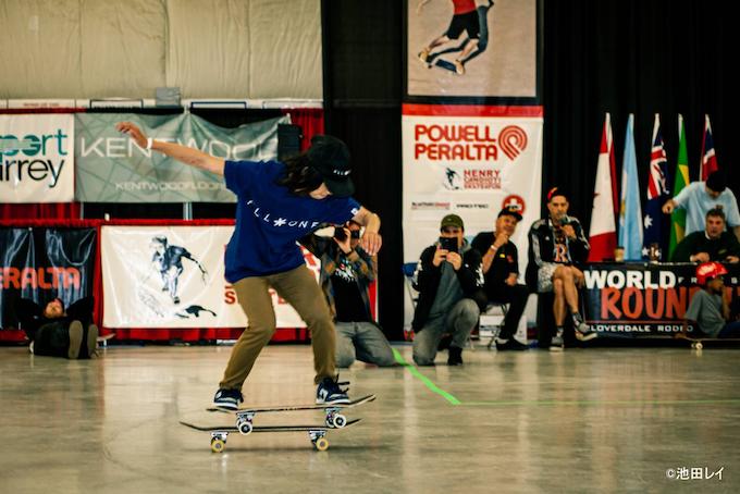 高校生プロスケーター 山本勇選手がフリースタイルスケートボード世界大会で3連覇!