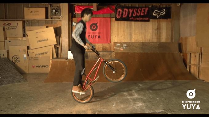 BMX HOWTO動画  初心者向けトリック 「ポゴ」
