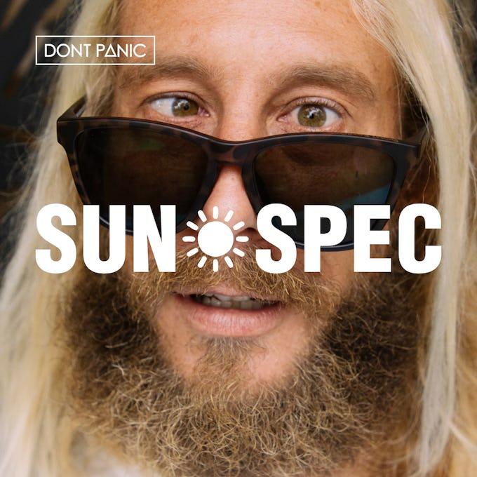 老眼鏡の大革命! 偏光機能付き遠近両用サングラス「SUN SPEC」登場!
