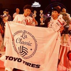 フリースタイルフットボールの世界大会で日本人のYOSSHI. (LA CLASSIC)が世界一に輝く!!