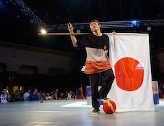 アジア人初の快挙!フリースタイルフットボール世界大会「Super Ball 2019」で世界第2位!!