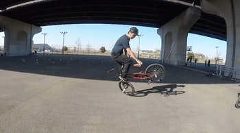 BMX ファイヤーチキン [ BMX フラットランド HOWTO #2 ]