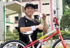 BMXフリースタイル・アジア選手権で池田貴広が準優勝!初代日本代表に抜擢