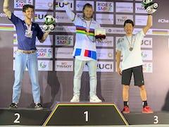 UCI 2019アーバン自転車競技世界選手権でBMXフラットランドの佐々木元、片桐光紗季が男女揃って表彰台