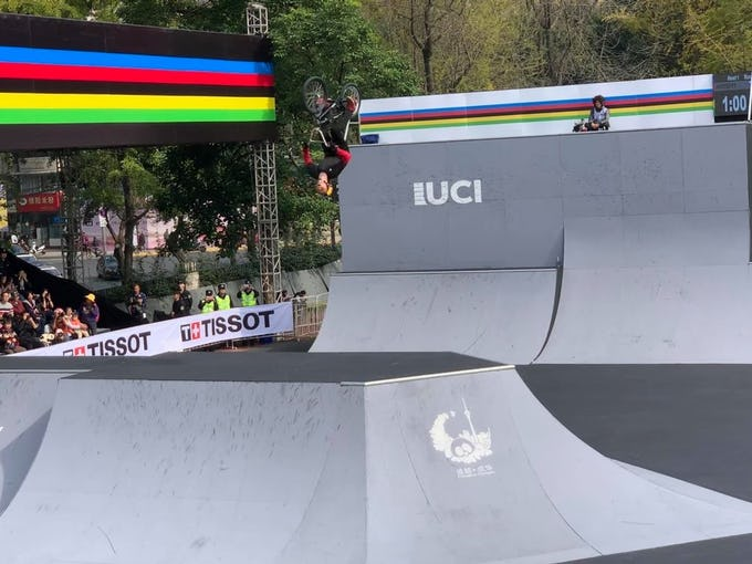 UCI 2019アーバン自転車競技世界選手権 パークはメダル獲得ならず 中村輪夢5位