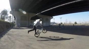 BMX ペグウィリー [ BMX フラットランド HOWTO #3 ]