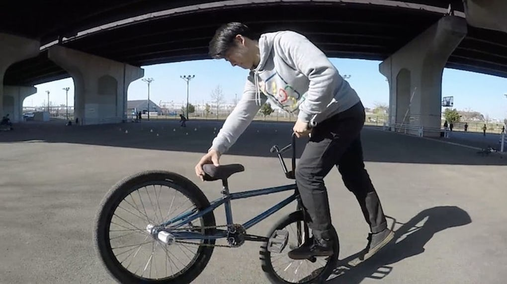 BMX スチームローラー [ BMX フラットランド HOWTO #5 ]