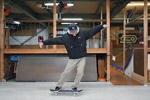 スケートボードHOW TO初心者編 「スケートボードを揺らして動き方を知ろう」