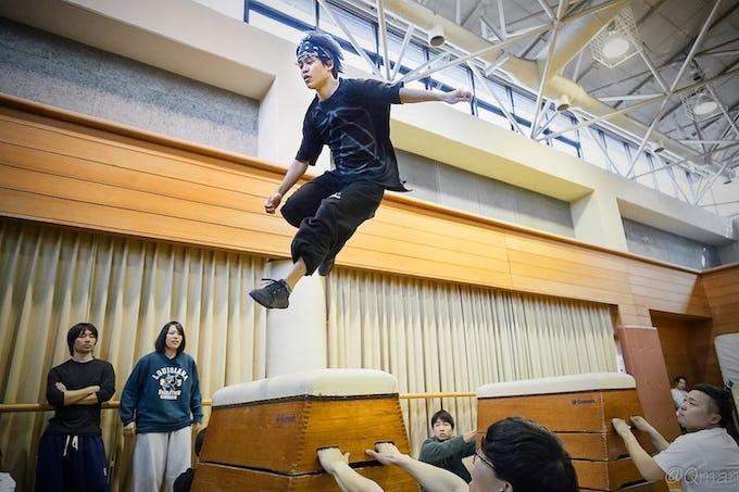 岐阜県大垣市 4月度パルクール基礎教室 開催のお知らせ!