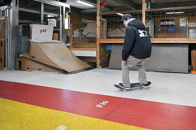 スケートボードハウツー初心者編 「行きたい方向へ進めるようになろう」