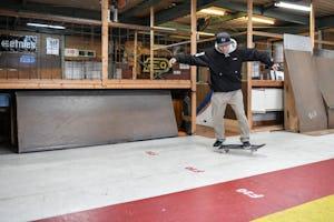 スケートボードHOW TO初心者編 「お腹側に回るバックサイドターン」