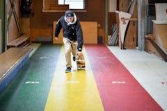 スケートボードHOW TO初心者編 「走りながら乗り込むランニングプッシュ」