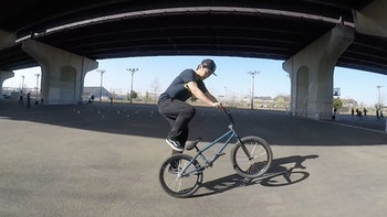 BMX メガスピン [ BMX フラットランド HOWTO #7 ]