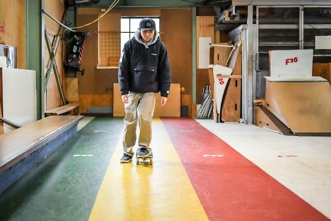 スケートボードHOW TO初心者編 「止まり方と転び方」