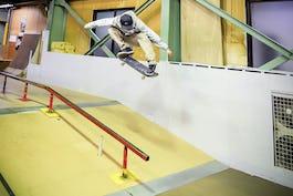 スケートボードHOW TOフラット編 「シチュエーションに応じたオーリー」