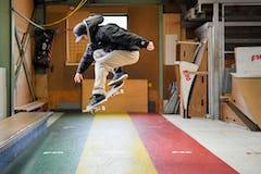 スケートボードHOW TOフラット編 「オーリーのバリエーション」