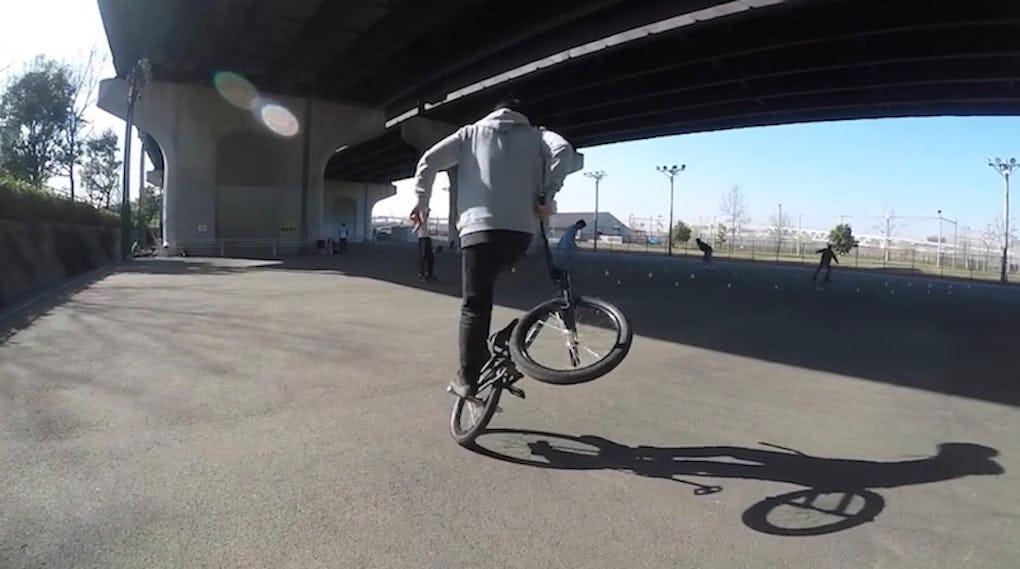 BMX ラードヤード Part 1 [ BMX フラットランド HOWTO #9 ]