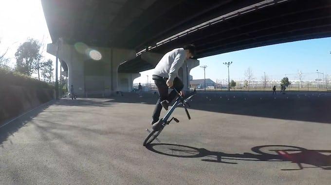 BMX ペダルローンモアスピン [ BMX フラットランド HOWTO #14 ]