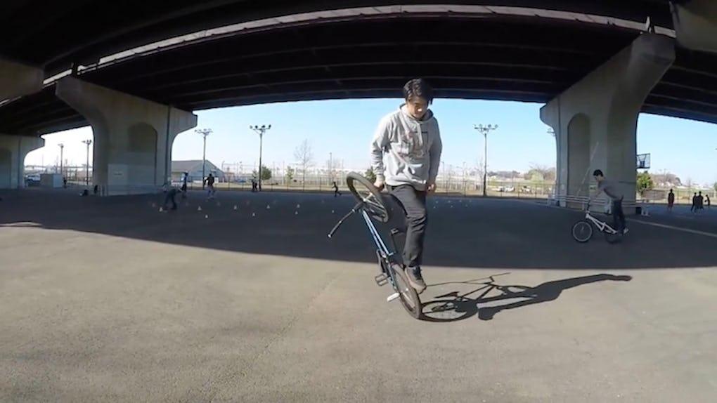 BMX カブース [ BMX フラットランド HOWTO #15 ]